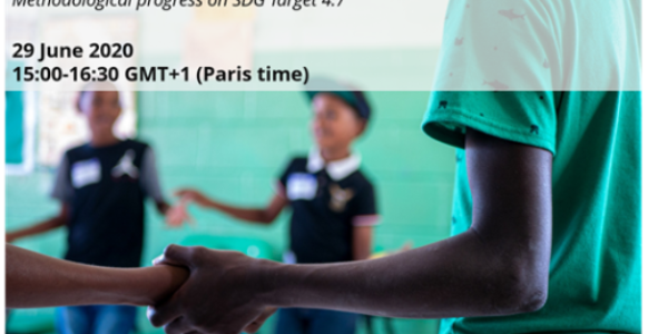 UIS organizes a webinar on progress on SDG4 Target